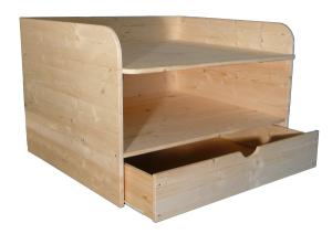 ma gefertigter wickelaufsatz f r badewanne tisch und. Black Bedroom Furniture Sets. Home Design Ideas