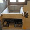 Wickelaufsatz für Badewanne mit Ablage aus Holz