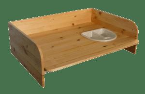 Wickelaufsatz für Tisch erhöhte Ausführung