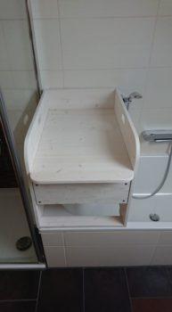 Wickeltisch passend für Badewanne