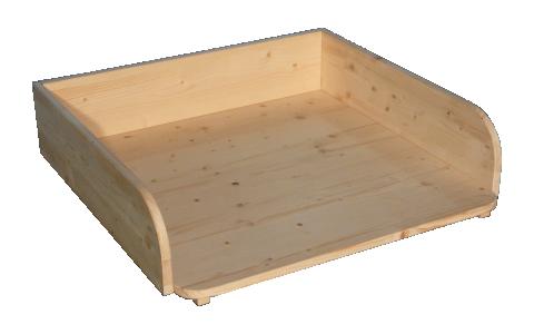 Wickelaufsatz für Tisch einfache Ausfuehrung