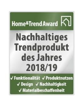 Wickelaufsatz aus Massivholz von MÖBEL ALTERNATIVE ausgezeichnet als nachhaltiges Trendprodukt des Jahres 2018/19