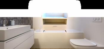 Wickelaufsatz Badezimmer