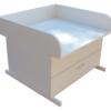 Wickeltischaufsatz Badewanne