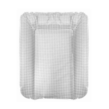 Wickelauflage Grau Karo 50x70